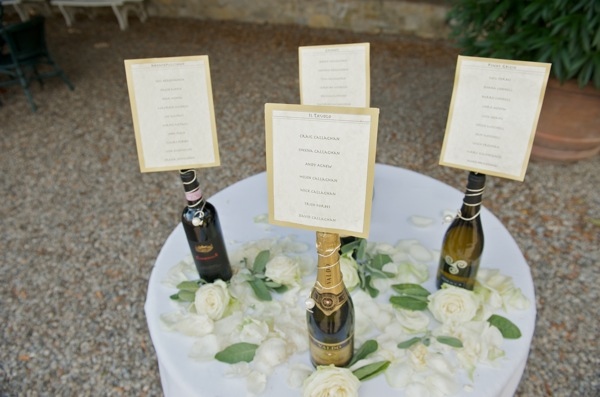 wedding seating plan idea, Siena