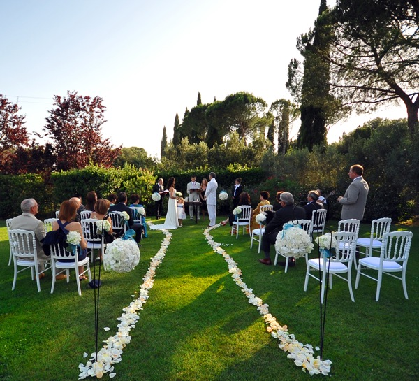 Villa Wedding, Tuscany