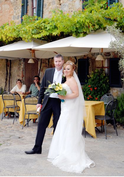 Monteriggioni, wedding