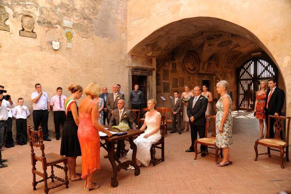 Certaldo Alto, Palazzo Pretorio, wedding venue