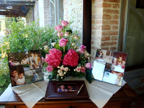 Wedding flowers, Siena