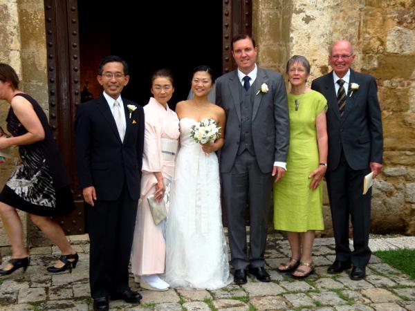 Tuscan Church wedding, Siena
