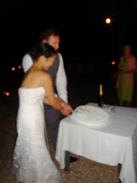 Italian wedding cake, Siena, Podere Le Vigne