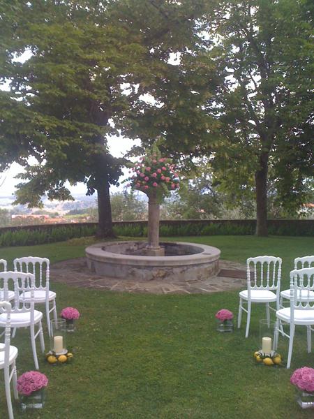 wedding ceremony - Tuscany