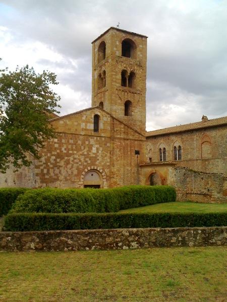 Tuscan Church, Ponte Allo Spino, Siena, Tuscany