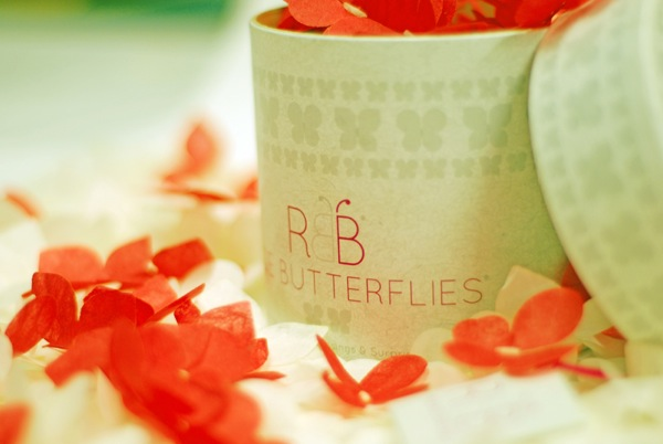 Marry Me In Tuscany loves…..Rice Butterflies