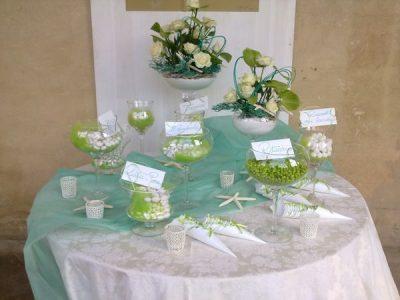 confetti corner, wedding, tuscany