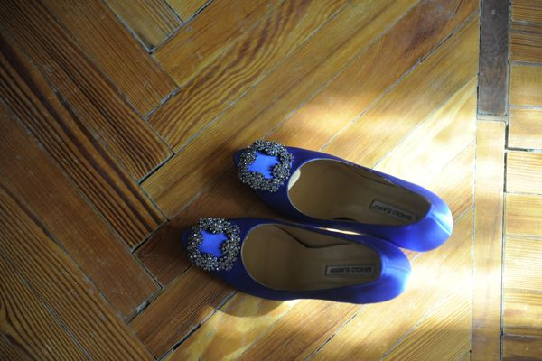 Wedding Shoes, Blue Manolo Blahnik Pumps, Wedding Tuscany