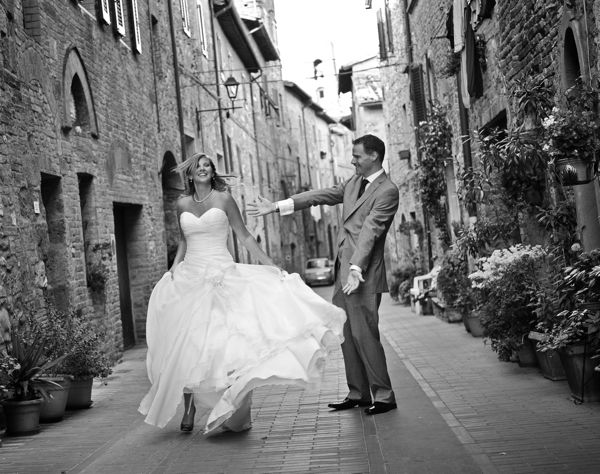 Real Tuscan Wedding – Casole D'Elsa – Erin & Pio