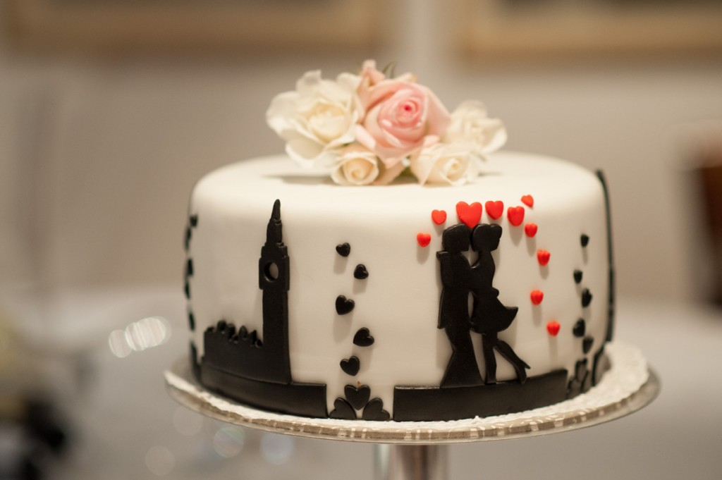 sylwia e matt wedding cake