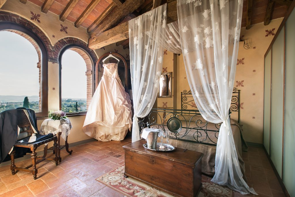 Bridal suite, upper floor