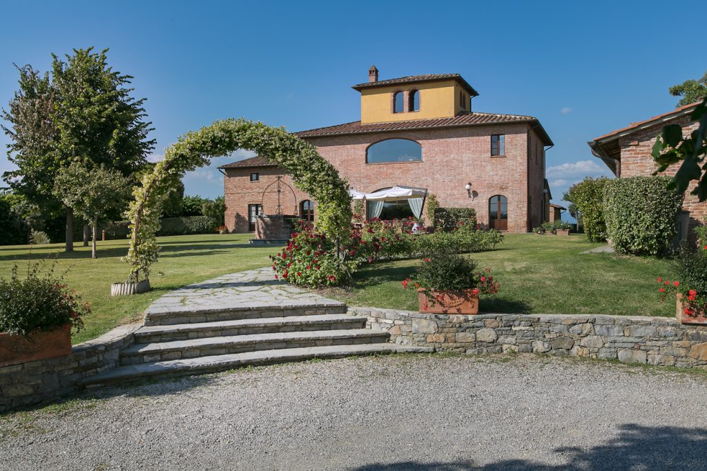 Villa Gianluca main entrance