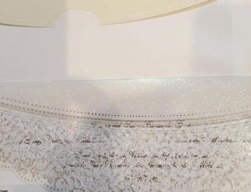 MMIT present Adorn wedding invitations